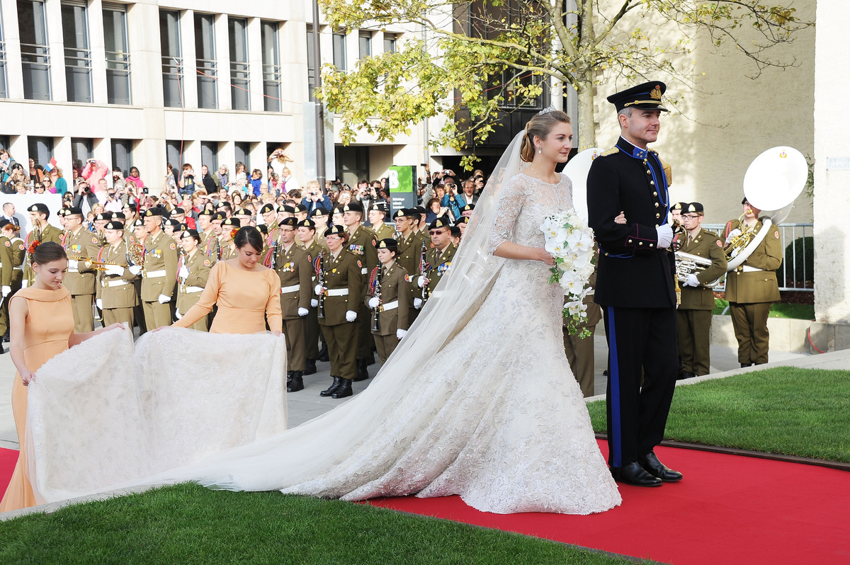 Grand Jour Mother Of The Bride Outfits And: Mariage Princier Au Luxembourg : Elie Saab Habille La